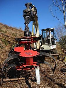 Mecanil SG220 A on excavator