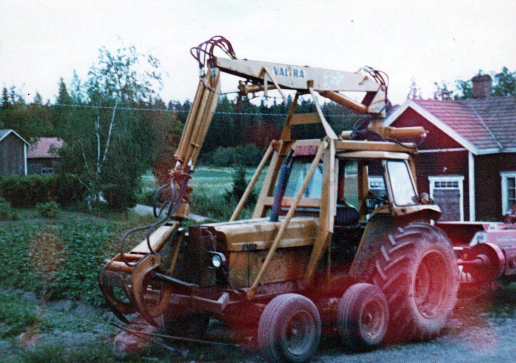 First forest machine