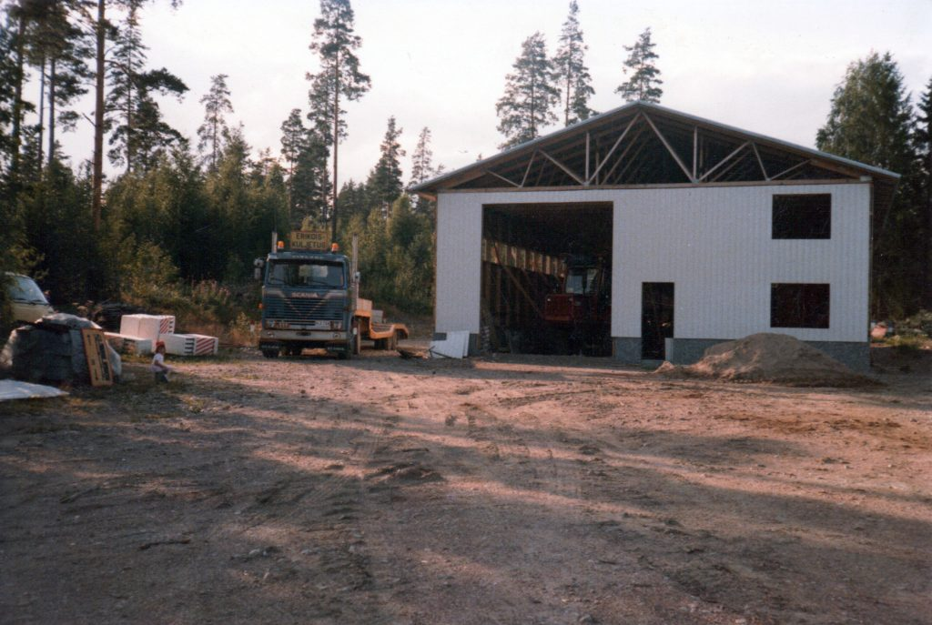 New workshop is built